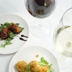 Happy Hour with Selected Wines and a Small Plates Menu